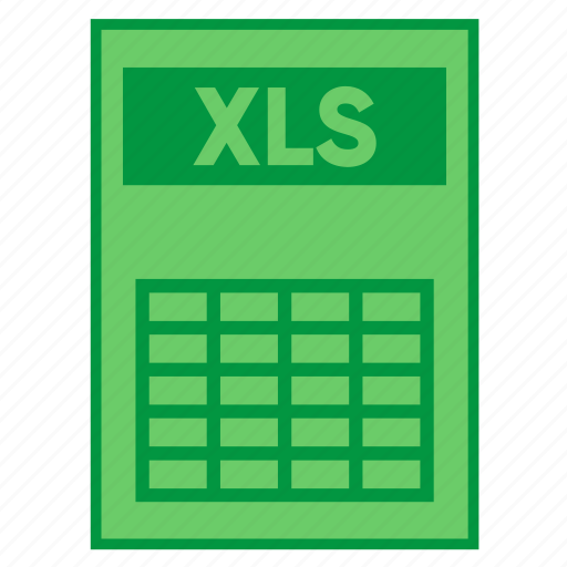 document, excel, extension, file, filetype, format, xls icon