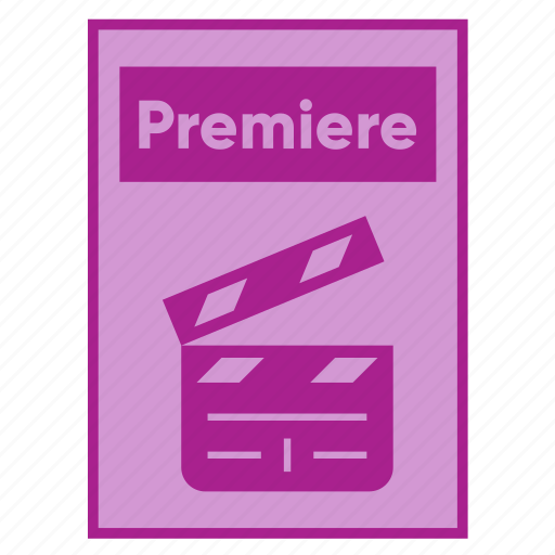 Adobe, document, extension, file, filetype, format, premiere icon - Download on Iconfinder