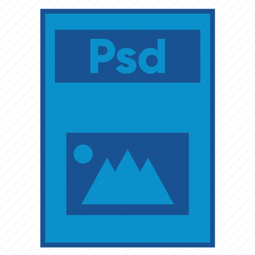 adobe, document, extension, file, format, photoshop, psd icon