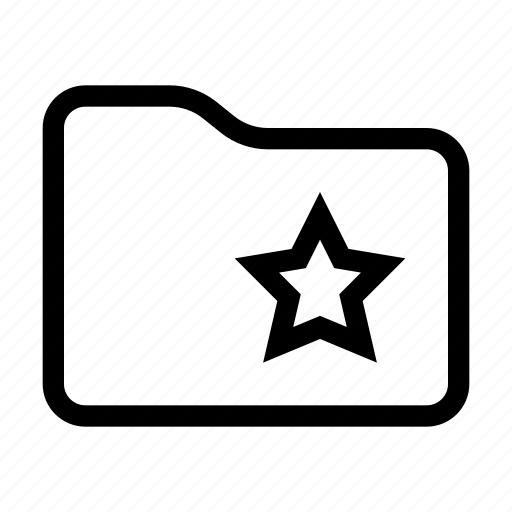 action, content, document, favorite, folder icon