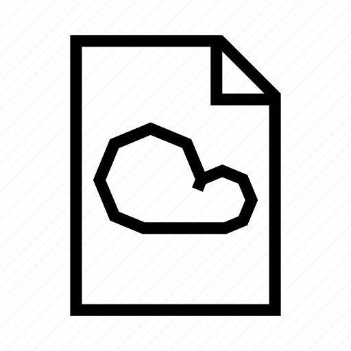 cloud, document, file, new, page, paper, text icon