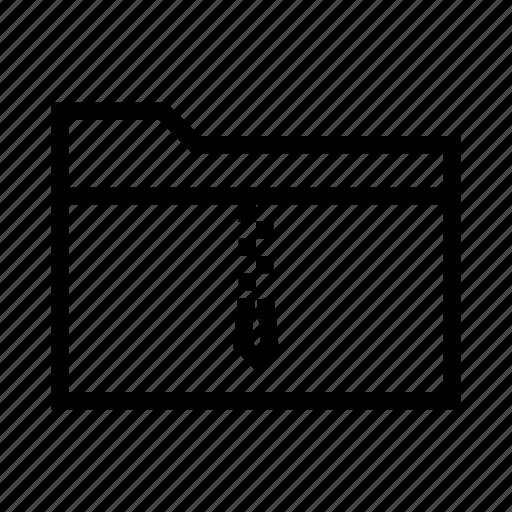 collection, compress, folder, rar, zip icon