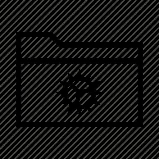 collection, configure, folder, settings, setup icon