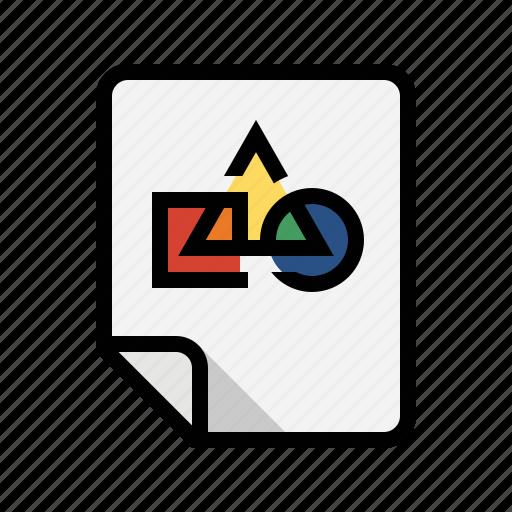 design, files, graphic, image icon