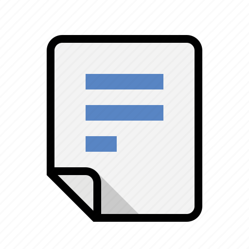 document, files, text icon