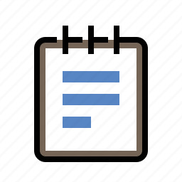 files, notepad icon