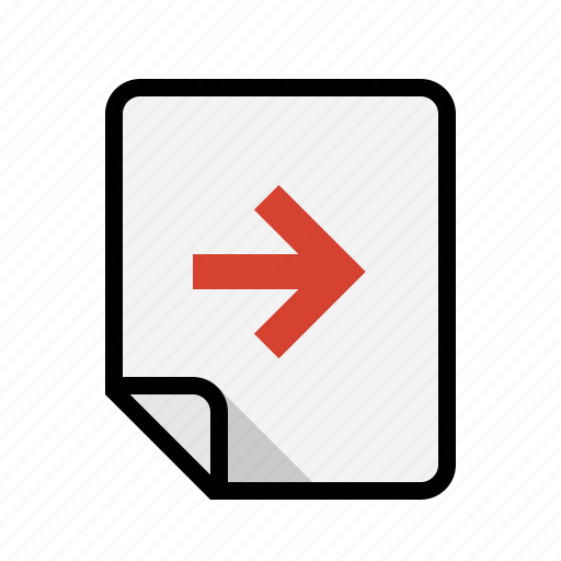 files, next, right icon