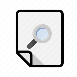 files, find, search icon