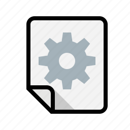 files, preferences, settings icon