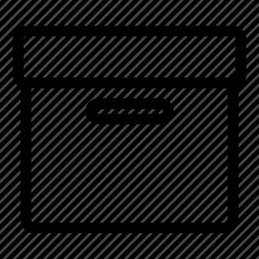 archive, box, compress, data, store, zip icon