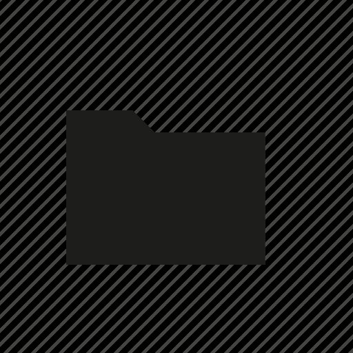 filled, folder icon