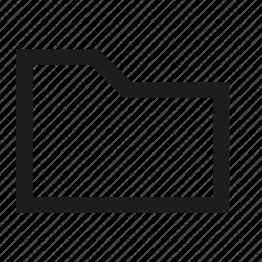 folder, square icon