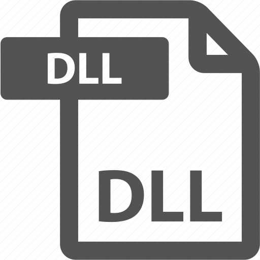 dll, document, extension, file, format, sheet, type icon