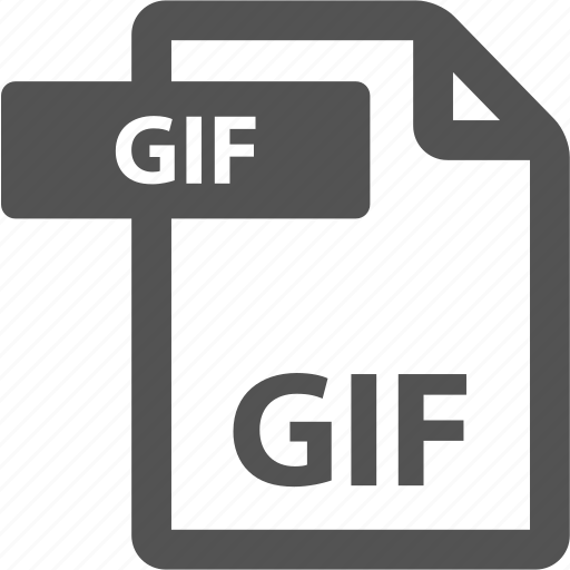 document, extension, file, format, gif, sheet, type icon