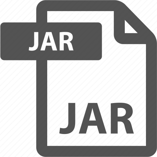 document, extension, file, format, jar, sheet, type icon