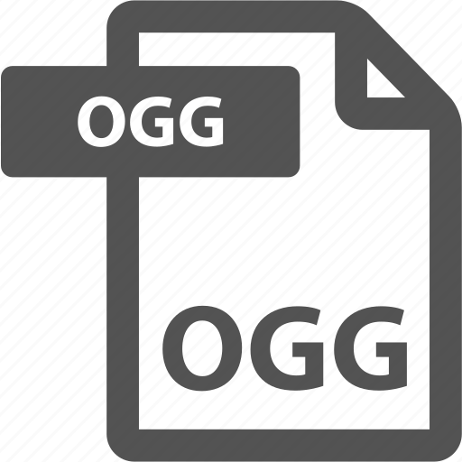 document, extension, file, format, ogg, sheet, type icon