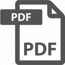 document, extension, file, format, pdf, sheet, type icon