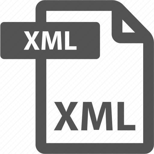 document, extension, file, format, sheet, type, xml icon