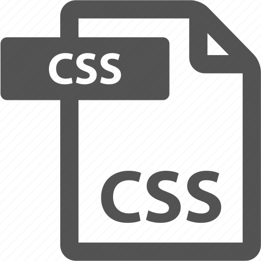 css, document, extension, file, format, sheet, type icon