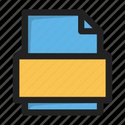 document, file, filetype, txt icon