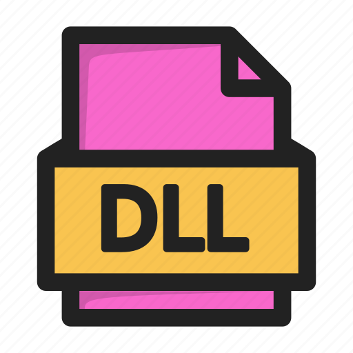 dll, file, type icon