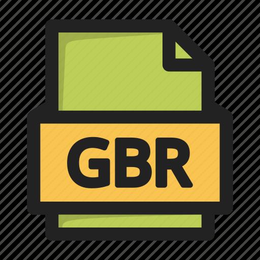 file, gbr icon