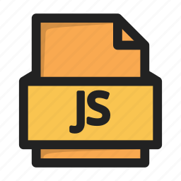 file, js, script, type icon