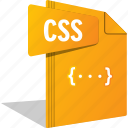code, css, filetype, script, style, website icon