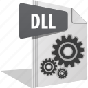 configuration, dll, gear, option, setting icon