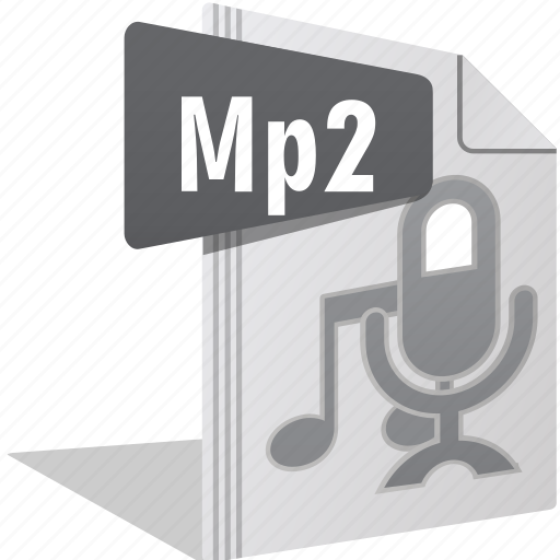 Audio, file, filetype, movie, mp2, sing, video icon - Download on Iconfinder