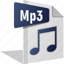 filetype, mic, mp3, music, sing, song, sound icon