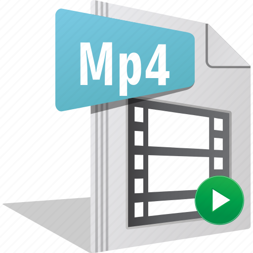 File, filetype, movie, mp4, play, video icon - Download on Iconfinder
