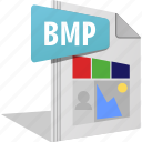 bmp, file, filetype, image, photo, picture icon
