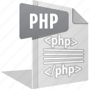 code, filetype, logo, php, script, website icon