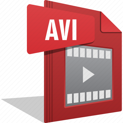 Avi, file, filetype, movie, play, video icon - Download on Iconfinder