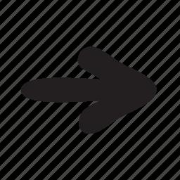 arrow, arrows, basic, continue, forward, next, point icon
