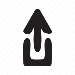 arrow, arrows, export, share, upload icon