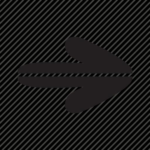 arrow, arrows, split icon