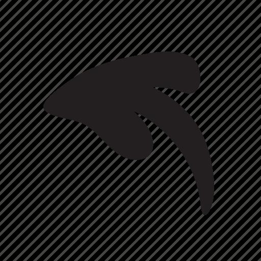 back, before, left, previous, undo icon