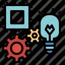 check, gear, integration, solution