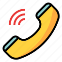 call, device, phone, ring, wifi icon
