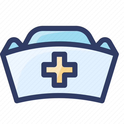hat, health, hospital, medical, nurse icon