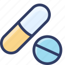 drug, health, medical, medicine, pill icon