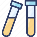 blood, examine, health, medical, test, tube icon