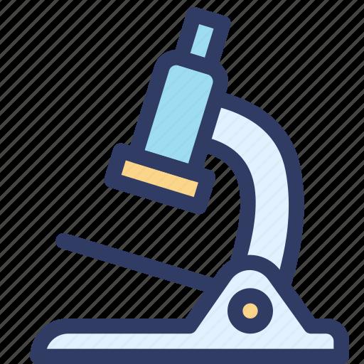 biology, examine, health, lab, microscope icon