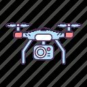 drone camera, drone camera icon, filmmaking, surveillance icon