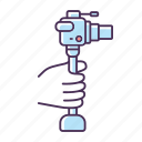 lightweight minicamera, lightweight minicamera icon, professional photography, filmmaking icon
