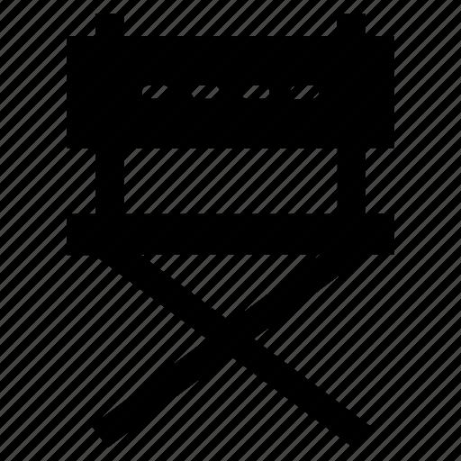 chair, cinema, director, star icon icon