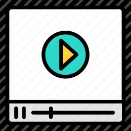 media, play, video, youtube, youtubers icon icon