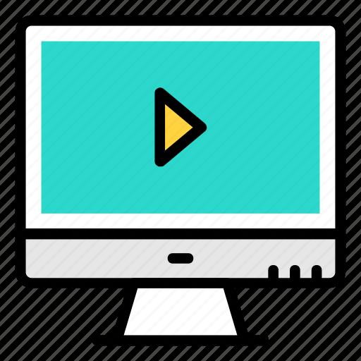 media, play, video, youtube, youtuber icon icon